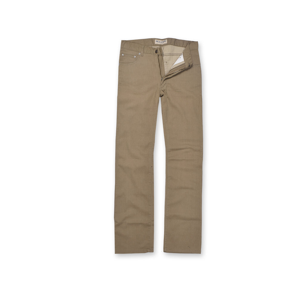 RICA LEVIS Straight Fit NON-Stretch Denim For Men-Dark Taupe-RICA LEVIS 01