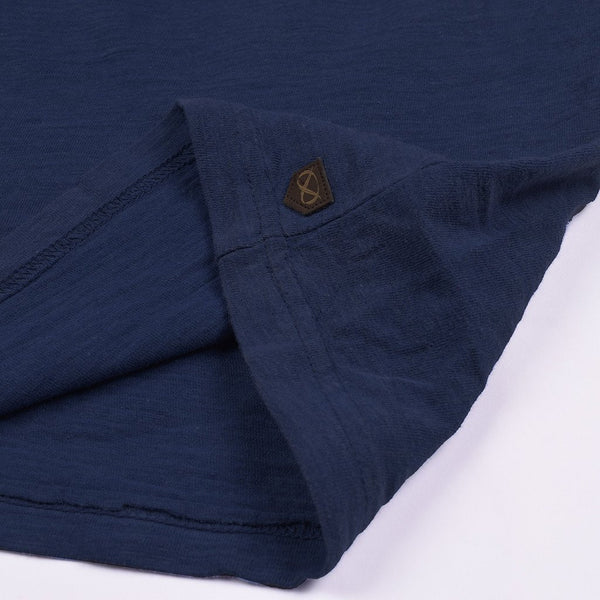 Farrell T Shirt Pocket Style For Men Cut Label-Dark Blue-BE2571