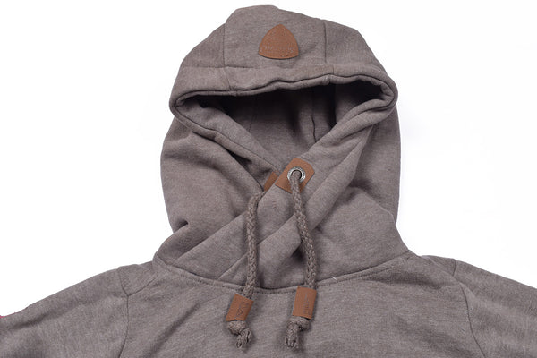 "Men's ""Sublevel"" Stylish Pull Over Fleece Hoodie-Fractal-BB10"