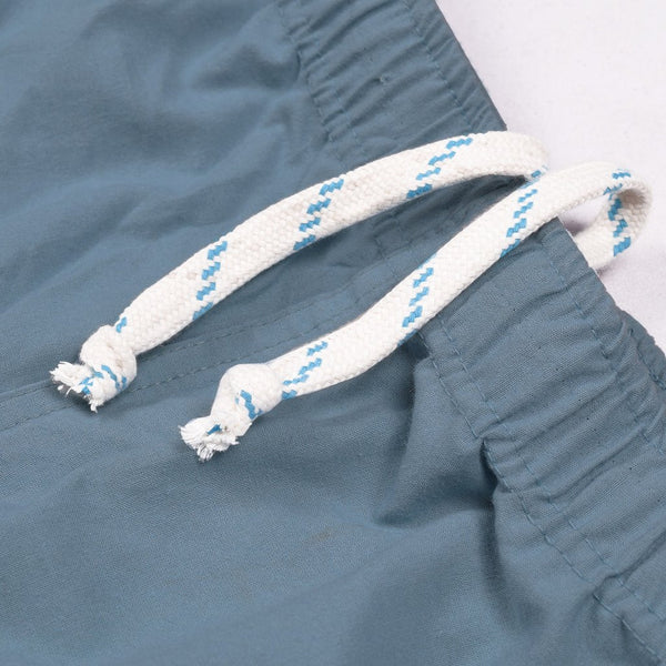 Adidas Cotton Trouser For Men-Bond Blue With Blue Stripes-BE2238
