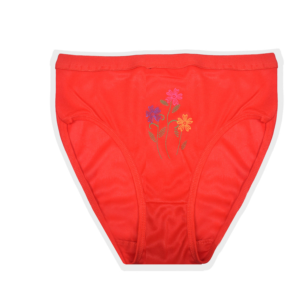 "Ladies "" Zara Essentials "" Stylish Underwear - Red- ZUW02"