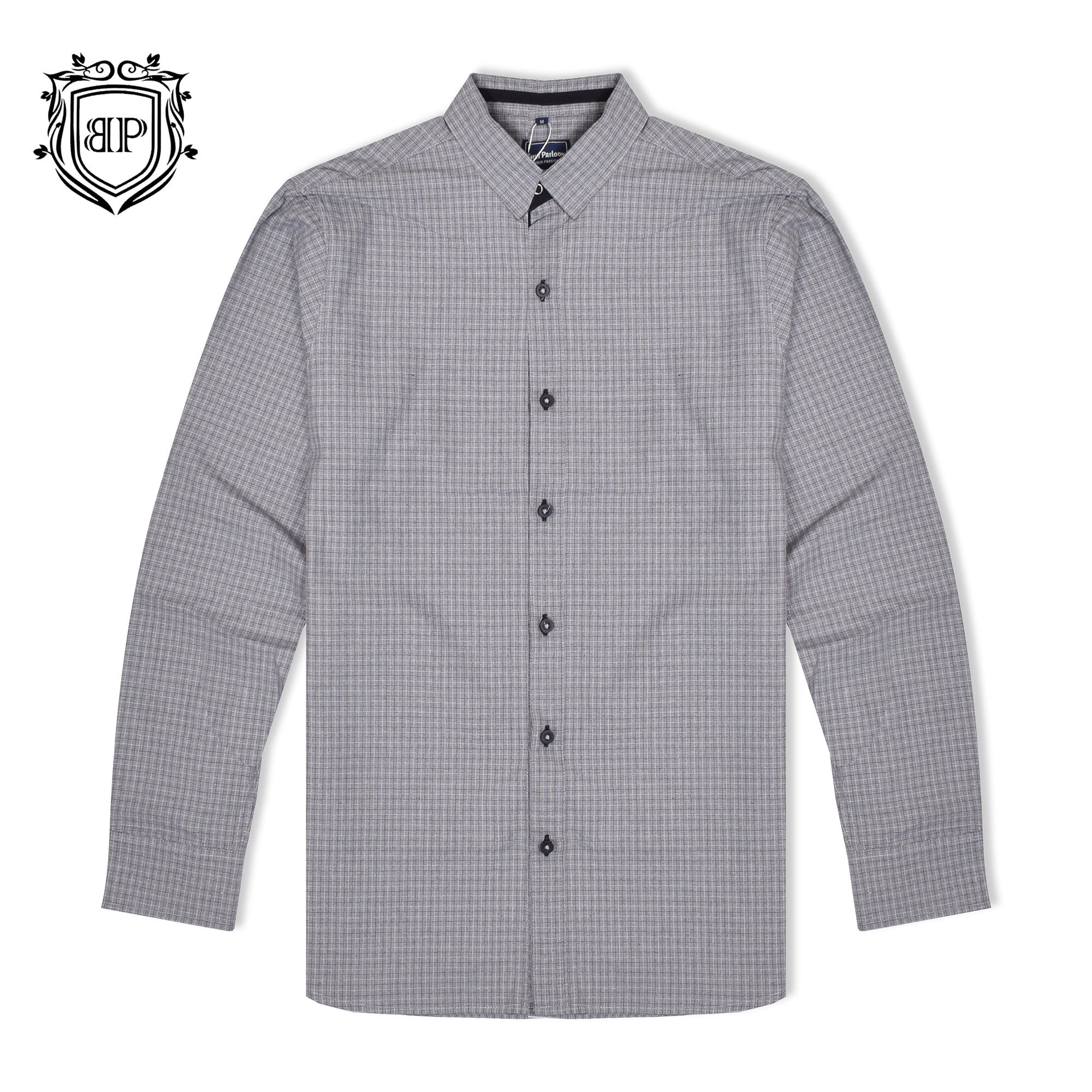 brandsego - Bushirt Patloon Casual Shirt For Men-Check-BP003