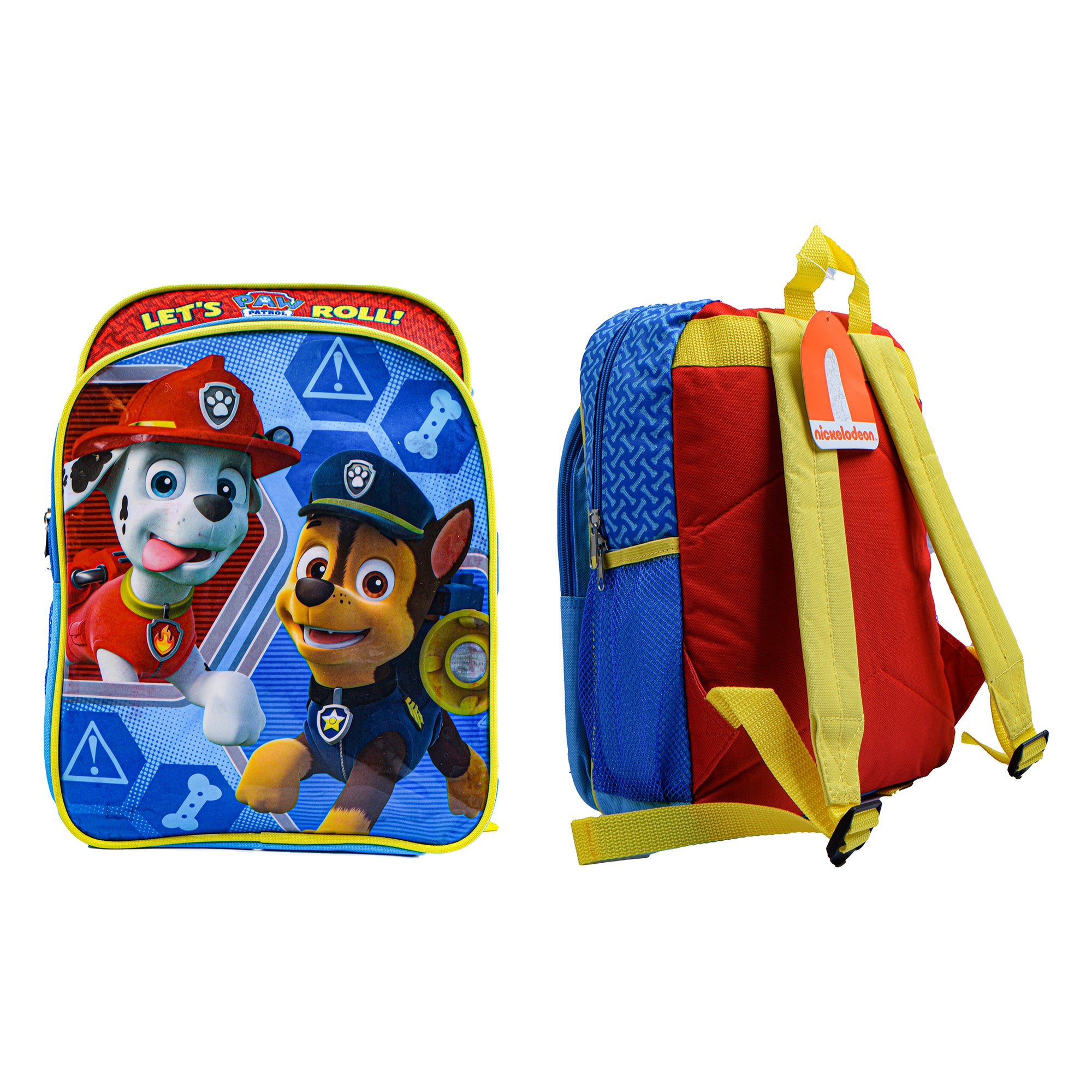 Nickelodeon Stylish School Bag For Kids-Paw Petrol-NA12267
