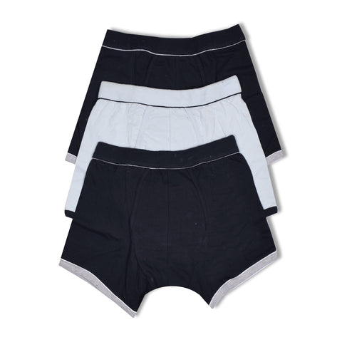 Pack Of 3 Pierre Klein Boxer Shorts For Men-Assorted-NA1090
