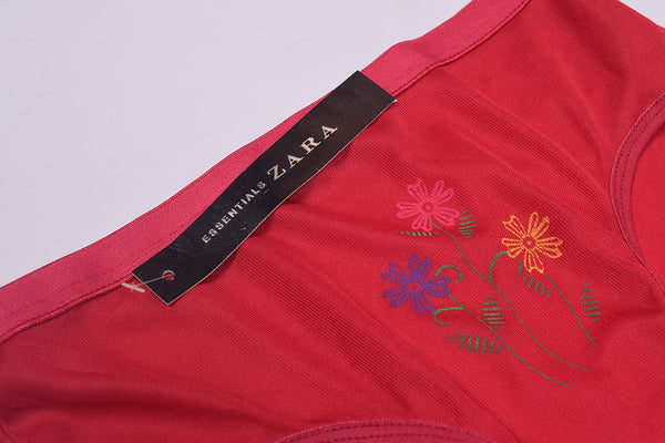 "Ladies "" Zara Essentials "" Stylish Underwear - Red- ZUW07"