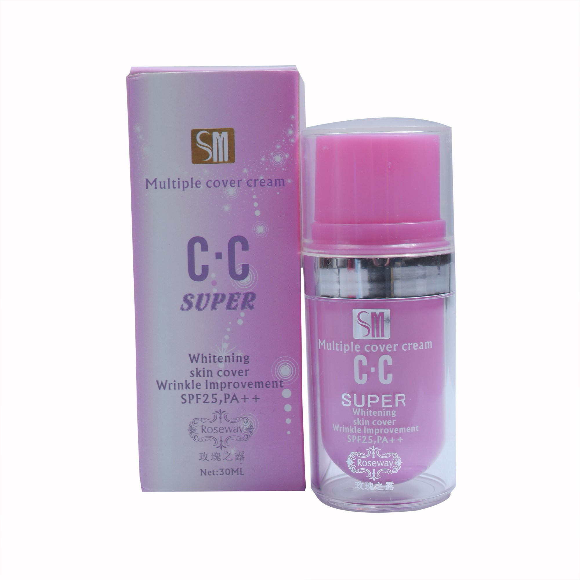 SM multiple cover cream C.C whitening skin cover wrinkle improvement-SK0145