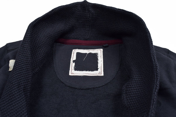 "Kid's Cut Label ""Next"" Stylish Y Neck Cardigan-Navy-H24"