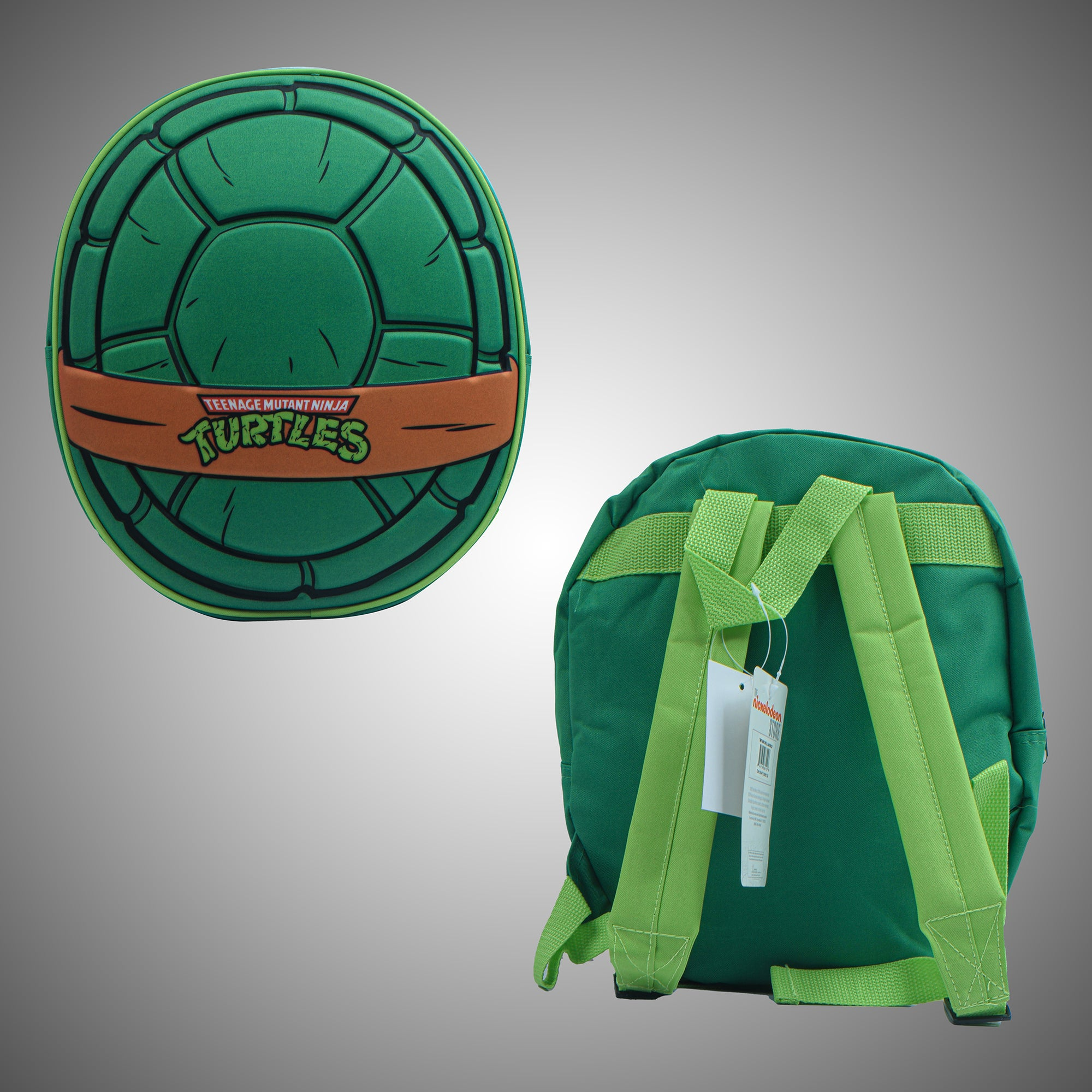 Nickelodeon Stylish Soft Shell School Bag For Kids-Turtles-NA12264