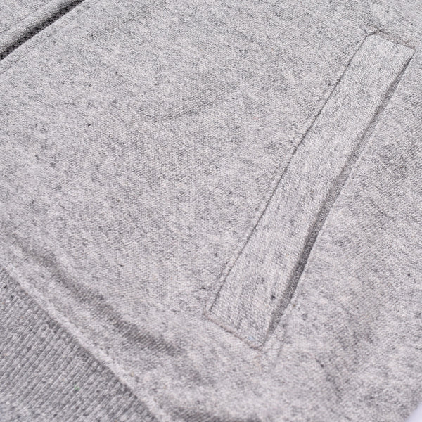 "Kids Cut Label ""NEXT"" Zipper Jacket-Gray-KTS02"