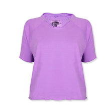 "Ladie's ""Wings"" Stylish Top-Light Purple-BE319"