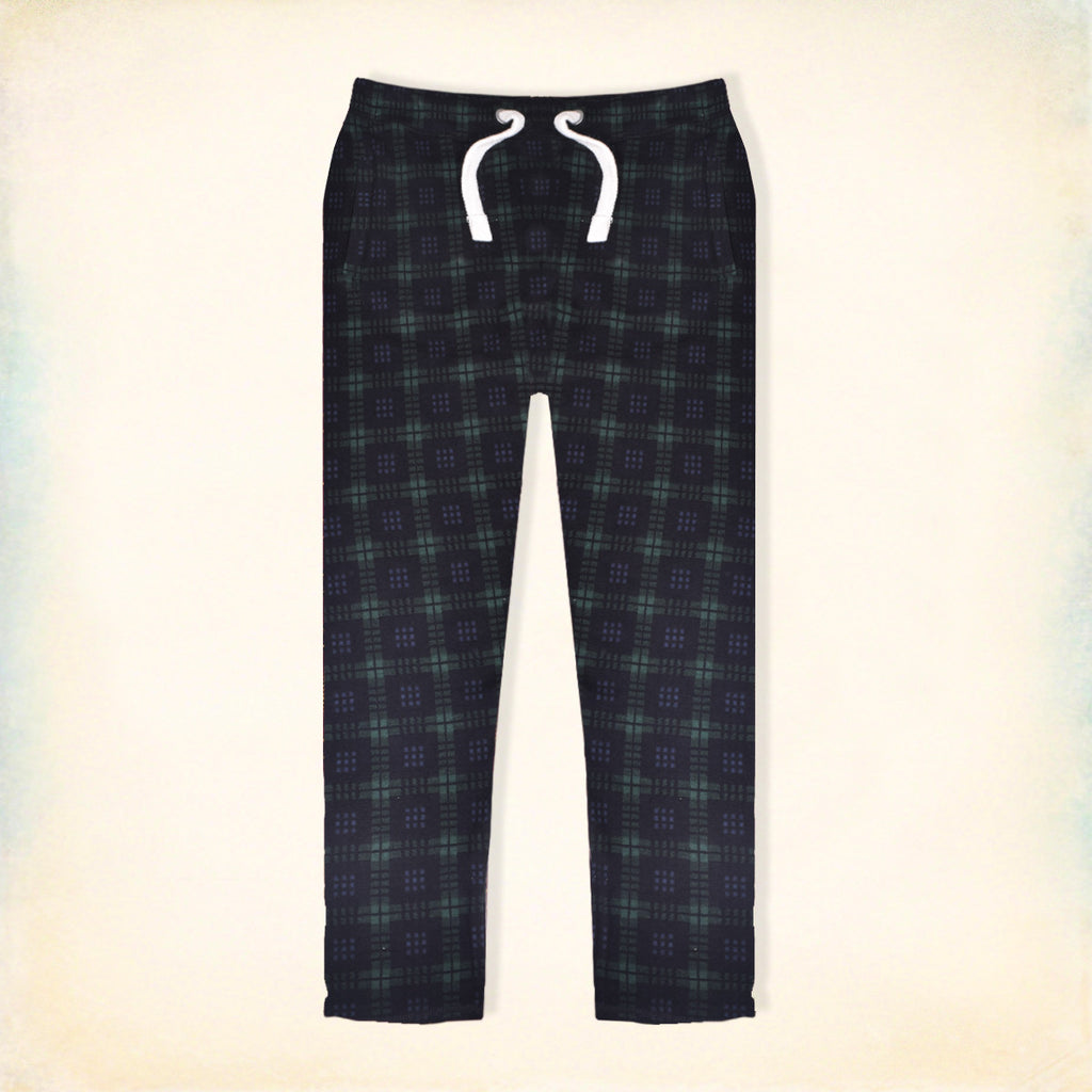 "Men's ""Tom Tailor"" Stylish Green & Black Check Regular Fit Stretch Trouser-TTT04"
