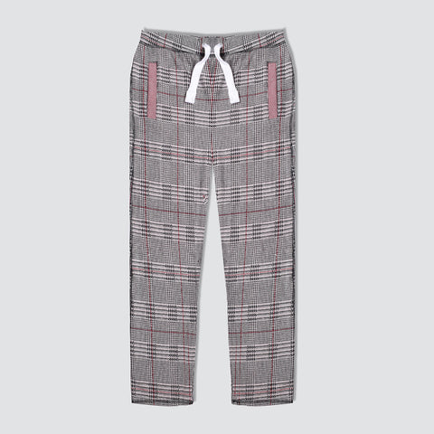 "Men's ""Tom Tailor"" Stylish Multi Check Regular Fit Stretch Trouser-TTT46"