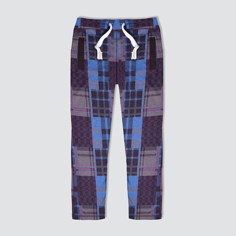 "Men's ""Tom Tailor"" Multi Check Regular Fit Stretch Trouser-TTT59"