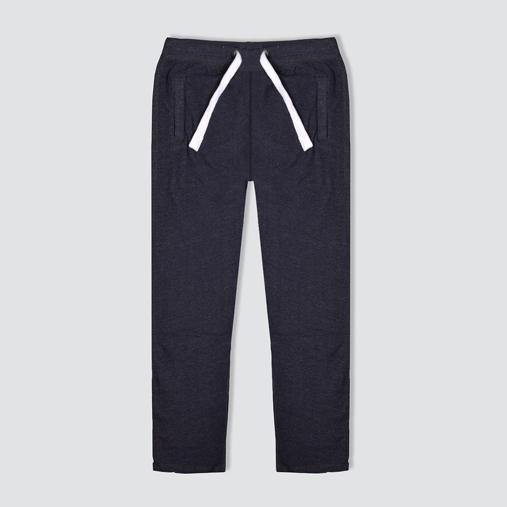 "Men's ""Tom Tailor"" Navy Melange Regular Fit Fleece Trouser-TTT53"