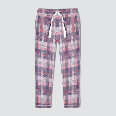 "Men's ""Tom Tailor"" Multi Check Regular Fit Stretch Trouser-TTT63"