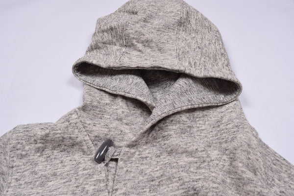 "Kid's Cut Label ""NEXT"" Stylish Pullover Hoodie-Gray Melange-KFH03"