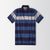 Fat Face Polo Shirt For Men-Dark Navy Striped-BE2370