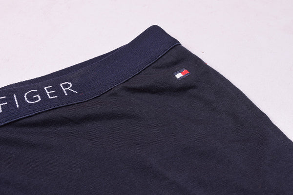 "Pack of 2 Men's "" Tommy Hillfiger"" Singal Jersy Trousers-Navy & Burgundi-THT03"