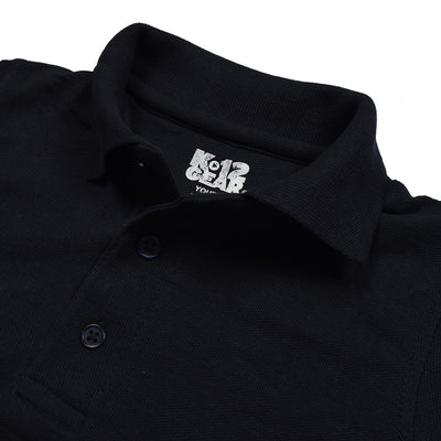 Dickies Polo Shirt For Boys-Dark Navy-BE776