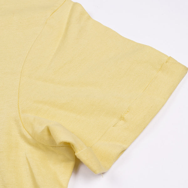 Next Crew Neck Half Sleeve T Shirt For Kid-Light Yellow-BE2053
