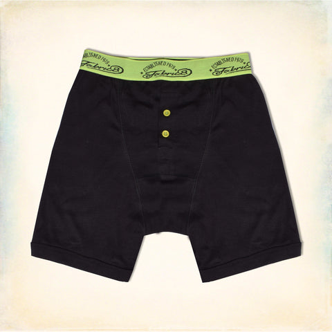 Classic Boxer Shorts For Men-Black-NA11109