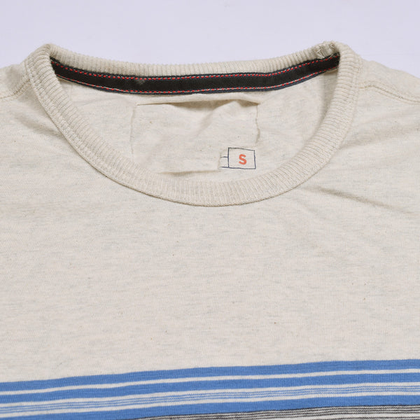 Next Half Sleeve Crew Neck T Shirt For Men-Striper-BE712