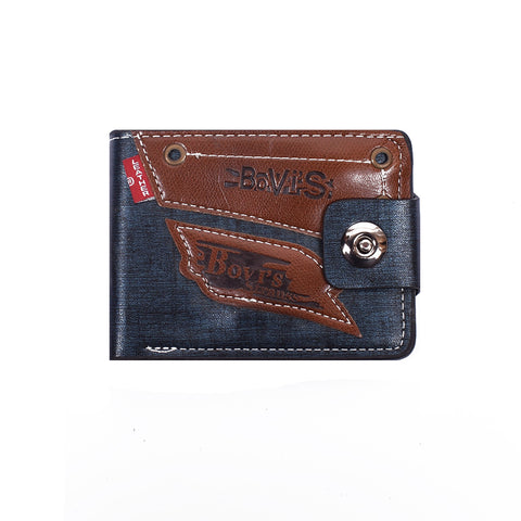 "Men ""Bovis"" Genuine Leather Wallet-BE272"