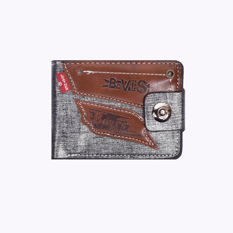 "Men ""Bovis"" Genuine Leather Wallet-BE273"
