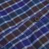 Labanny Premium Slim Fit Casual Shirt For Men-Purple & Multi Chek-RCS56