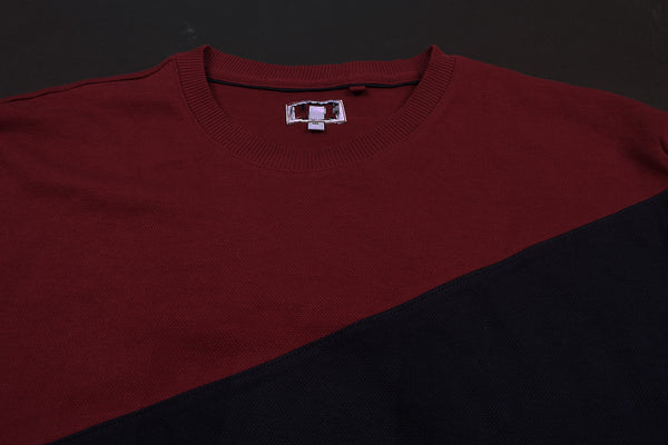 "Exclusive Men's ""NEXT"" Cut Label Raglan Sleeve Sweat Shirt -Contrast-(SS10)"
