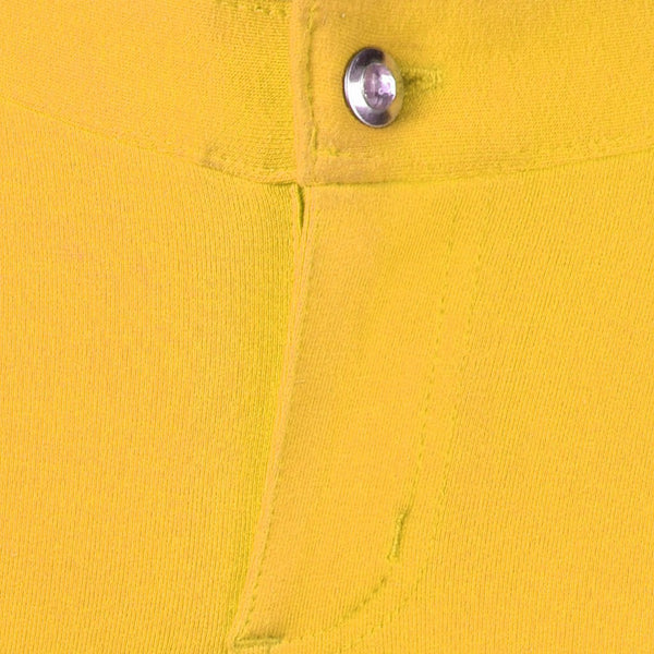 "Ladies ""THRILL"" Yellow Denim Shorts-(TDS01)"