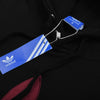 Adidas Fleece Pullover Hoodie For Men-Black-NA10261