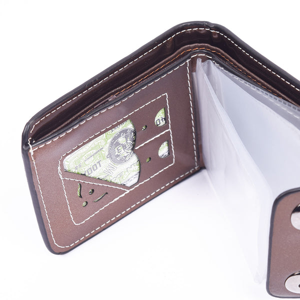 "Men ""Premium Quality"" Genuine Leather Wallet-BE278"