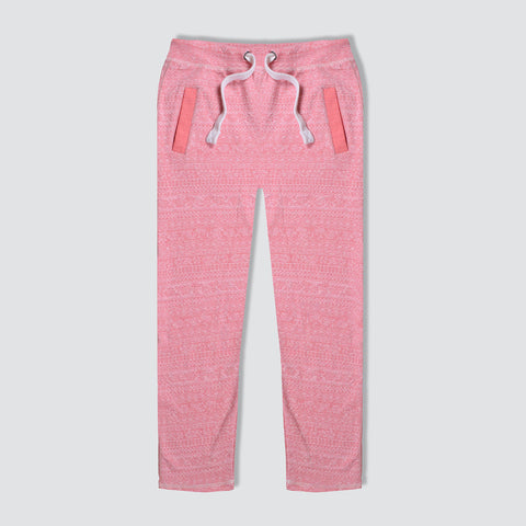 "Men's ""Tom Tailor"" Stylish Pink Check Regular Fit Stretch Trouser-TTT50"