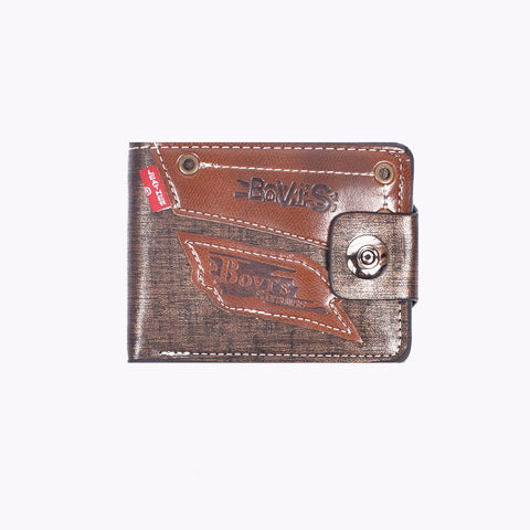 "Men ""Bovis"" Genuine Leather Wallet-BE280"