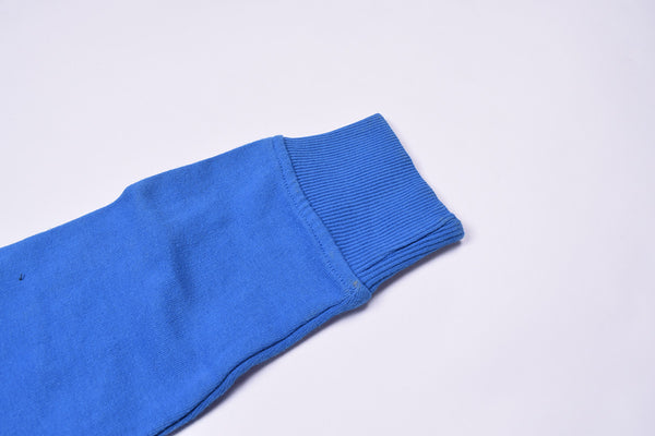 "Kids Cut Label ""Next"" Pullover Hoodie-Blue-KTS08"