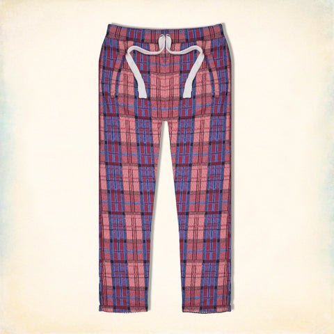 "Men's ""Tom Tailor"" Stylish Multi Check Regular Fit Stretch Trouser-TTT29"