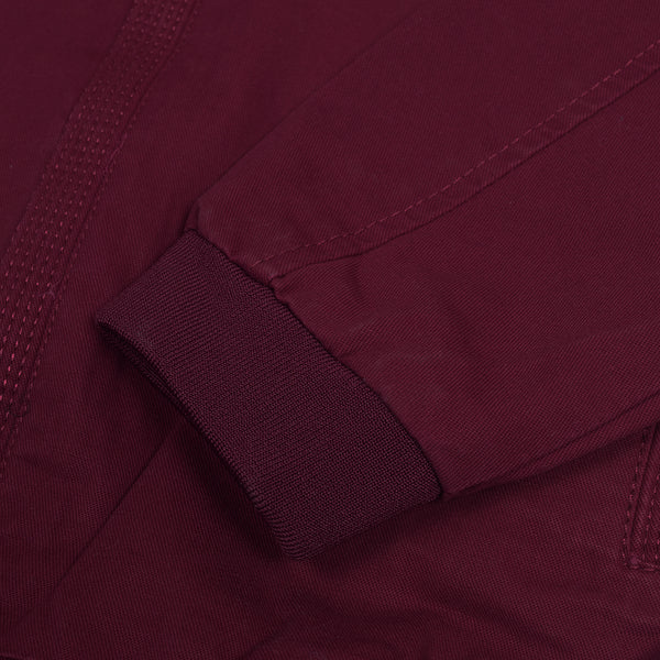 Wine Red WJ016 Cotton Jacket For Men's By BUSHIRT PATLOON