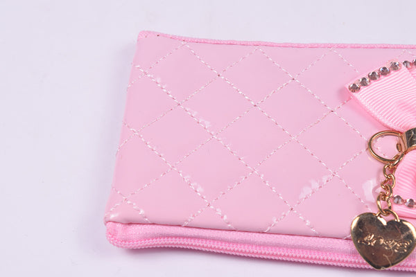 Ladies Wallet & Mobile Pouch-Light Pink-LP05