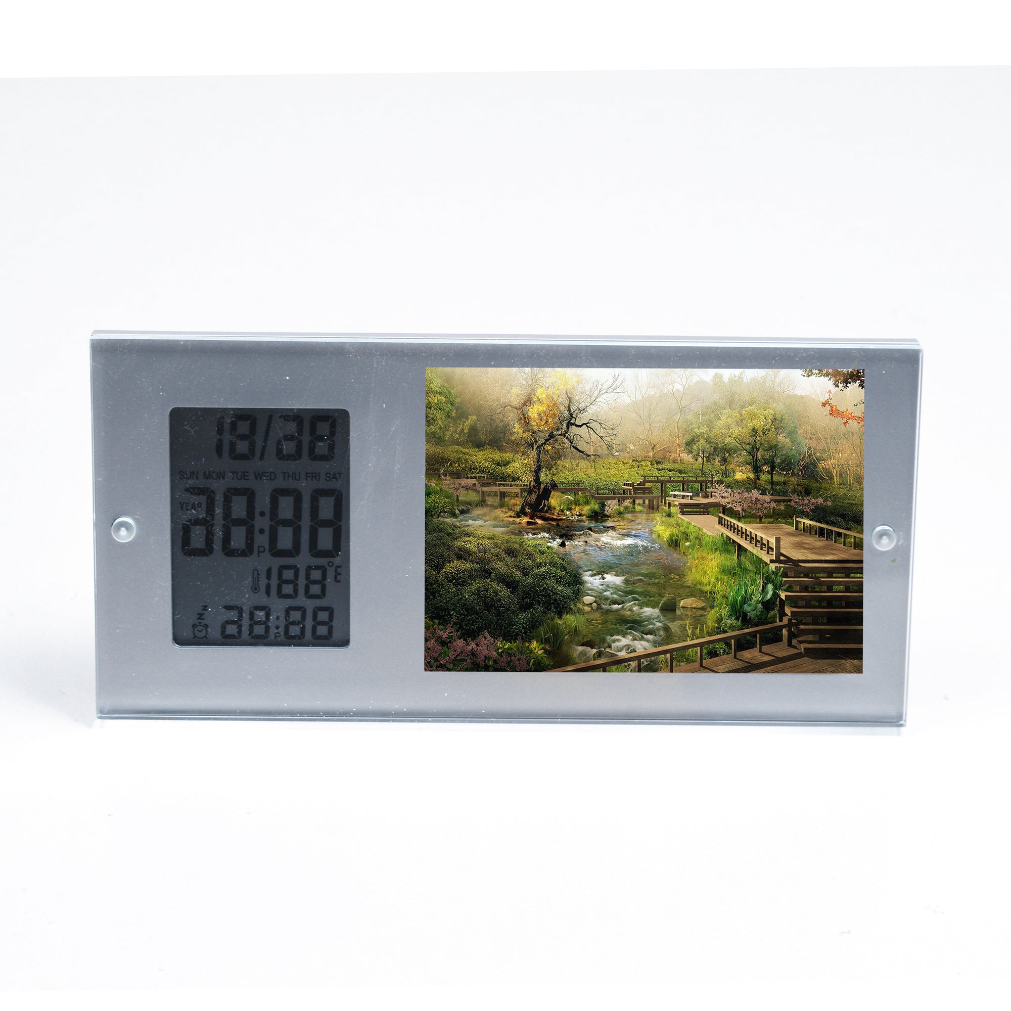 Picture Frame With Clock-SK0096