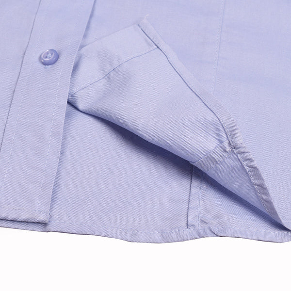 Uneek Half Sleeve Casual Shirt For Women-Lavender-BE952