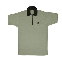 "Kids ""B&G"" Polo Shirt- Green-BE2392"