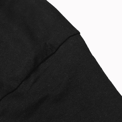 Sipral Direct Crew Neck Full Sleeve Tee Shirt For Men-Black-SDVT02