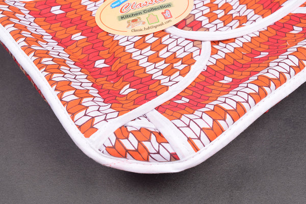 "Exclusive ""Classic Kitchen Collection"" 100% Cotton Roti Cover-RC76"