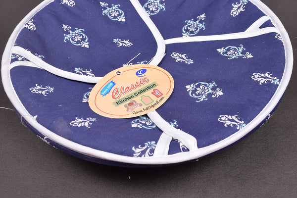 "Exclusive ""Classic Kitchen Collection"" 100% Cotton Round Roti Cover-RRC1"