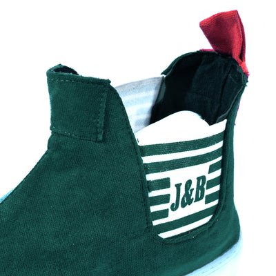 J&B Diligent Shoes For Men-Dark Green-NA6874