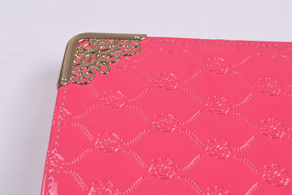 Ladies Stylish Singal Zip Purse-Pink-LP24