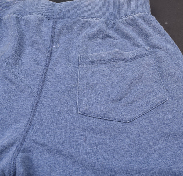 Men's George Cut Label Stylish Terry Fleece Short-Light Blue-GS01
