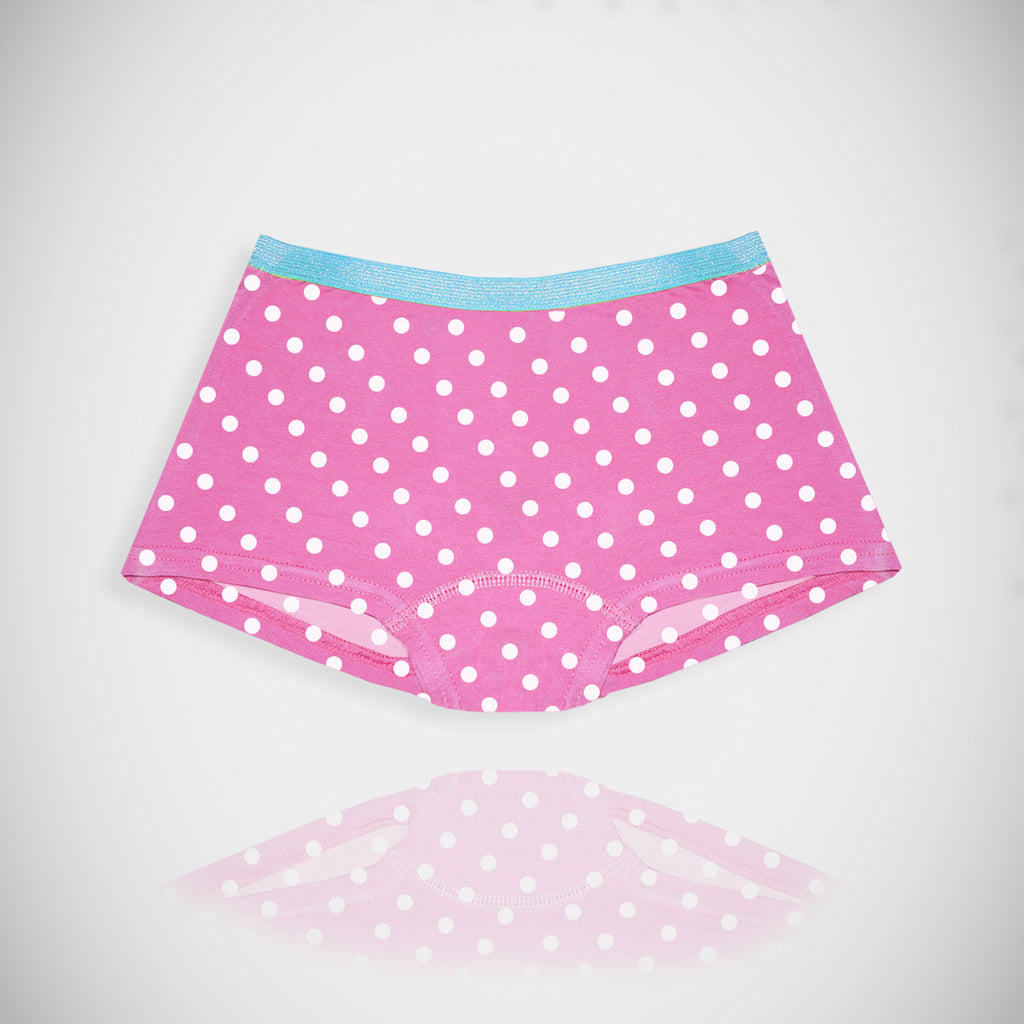 "Kid's ""Fruit Of The Loom"" Panti-Pink Dotted-KP9"