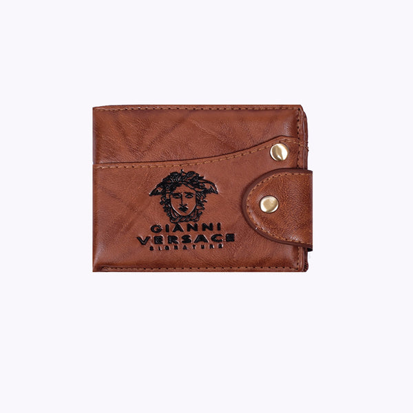 "Men ""Gianni Versace"" Genuine Leather Wallet-BE287"